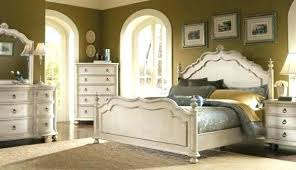 Rustic White Bedroom Furniture Distressed White Bedroom Set Rustic ...