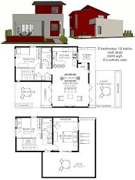 small contemporary house plans.  Contemporary Small Modern House Plan 1269  61custom On Small Contemporary House Plans A