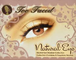 too faced natural eye neutral eye shadow collection review photos swatches