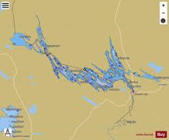 Fishing Charts Near Me Spednic Lake Fishing Map Us_cc_me_spednic_lake_me