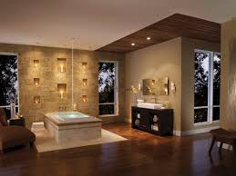 Gorgeous Small Bathroom With Spa Concept With Stone Wall And Spa - Candles for bathroom