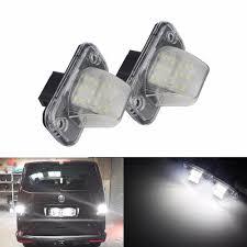 Caravelle Lighting Us 14 99 Angrong 2x Led License Number Plate Light White For Vw Transporter T4 Multivan Caravelle Mk4 Passat Eurovan Ca336 In Signal Lamp From