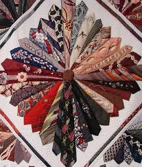 142 best Quilting: Necktie Quilts images on Pinterest | Jellyroll ... & detail, Necktie quilt by Shirley Parsons, 2013 Nebraska State Fair. Photo  by Sandy Adamdwight.com
