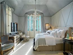image of modern fabric wall panels for bedroom