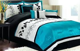 turquoise duvet cover sets comforter and black set white teal bedding gray