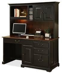 riverside furniture bridgeport single pedestal computer desk with
