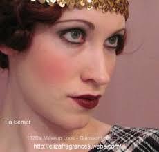 1920 s flapper makeup look tia semer
