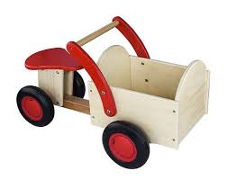 <b>New Classic Toys</b> Houten Bakfiets Blank / Rood | <b>Деревянные</b> ...