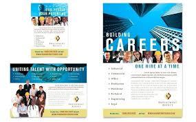 Recruitment Brochure Template Career Brochure Template Free Templates Recruitment