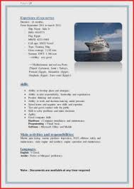 Seafarer Resume Sample Resume Samples for Seafarers Unique Resume Examples Medical 35