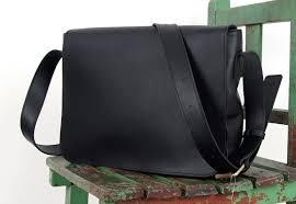 messenger bag mens leather briefcase black messenger bag
