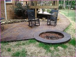 concrete patio designs with fire pit. Concrete Patio Fire Pit Ideas Designs With V