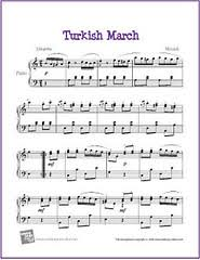 This is the 3rd movement from the piano sonata no. Mozart Turkish March Sheet Music Pdf Epic Sheet Music