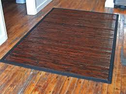 bamboo area rug bamboo floor rug rugs ideas bamboo area rug 5x7