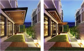 Landscape Design For Semi D House Semi D House Exterior Design Malaysia