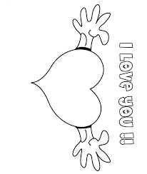 Small Picture I Love U Printable Coloring Pages Coloring Coloring Pages