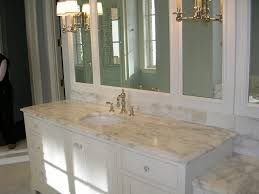 Best Color For Granite Countertops And White Bathroom Cabinets ...