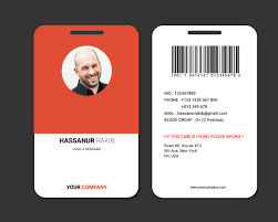Company Id Badge Template Showcase And Discover Creative Work On The Worlds Leading