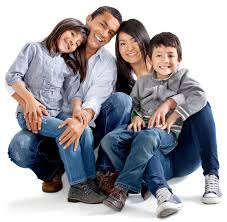 family white background isolated images