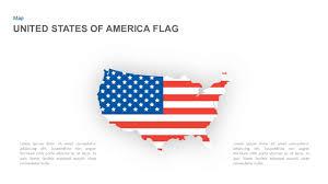 American Flag Powerpoint Template And Keynote Slide