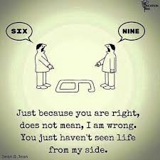 Quotes About Perspective Fascinating QUOTE Perspective 'Just Because You Are Right Does Not Mean That I