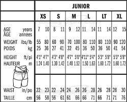 32 Systematic Hockey Pant Sizing Chart