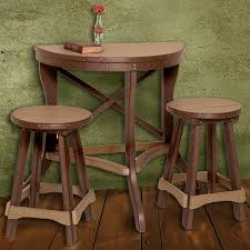 chair gorgeous round pub tables 8 amish made poly outdoor half balcony 36 inch 250 set