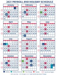Calendar 2021 with week numbers. Faa Payroll Calendar 2021 Payroll Calendar