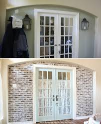 simple ways to recreate the look of real exposed brick walls conserve water save money