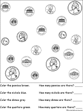 Us Coin Values Chart Us Coins Enchanted Learning