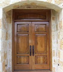 Front Doors  Cool Oak Front Doors And Frame  Hardwood Exterior - Hardwood exterior doors and frames