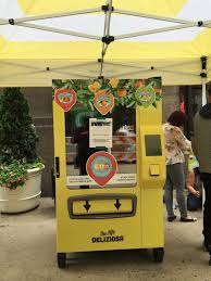 Customized Vending Machine Philippines Amazing A San Pellegrino Vending Machine It's Like NYC Has Been Customized