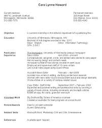 Example Of College Student Resume Beauteous Resume Of A College Student Sample College Student Resumes Sample