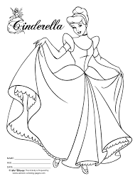 Small Picture Princess Cinderella Coloring Pages Games Coloring Pages