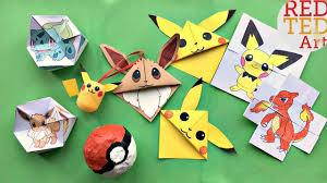 5 fun pokemon diys crafts red ted art