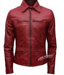 real leather jackets womens red zipper real leather women jacket leather biker jacket womens brown