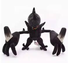 神奇寶貝pokemon 奈克洛茲瑪毛絨公仔究極異獸日月神獸奈克洛茲瑪玩具娃娃