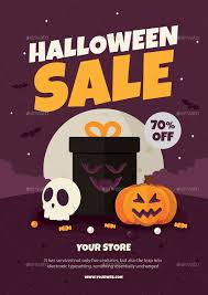 halloween sale flyer halloween sale flyer by vector vactory graphicriver