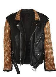 inker crux studded motorcycle jacket