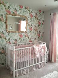 baby girl nursery wallpaper large size of pink bird flower blue hills wall  decals arts uk . baby girl nursery ...