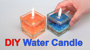 Diy Candles Diy Beautiful Water Candle Youtube