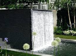 wall water fountains outdoors garden fountain