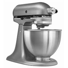 classic plus 4 5 quart 10 sd silver stand mixer kitchenaid
