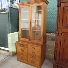 Kitchen Bookcase Pine Kitchen Cabinet Antique Hutch Antique Furniture Display