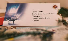 how to write a letter for santa to finnish lapland