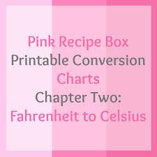 Celcius To Farenheit Conversion Chart Printable Fahrenheit To Celsius Printable Chart