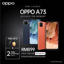 The OPPO A73
