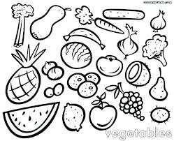 Coloring Vegetables T6398 Vegetables Vegetables Colouring Pages Pdf