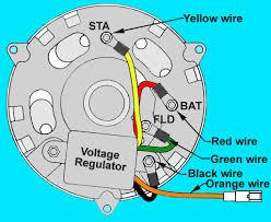 wiring diagram of alternator and voltage regulator somurich com wiring diagram of alternator and voltage regulator wiring diagram for alternator fordrh svlc