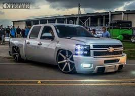 Truck Quotes Classy Wheel Offset 448 Chevrolet Silverado 448 Tucked Lowered 448 F 48 R